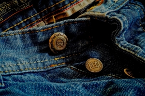 Todo lo que brilla. . ¿son Blue Jeans desteñidos?